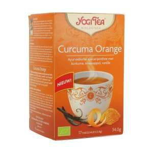 Cúrcuma Orange – Yogi Tea – 17 filtros