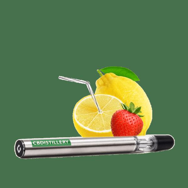 cdbdistillery vape pen strawberry lemonade