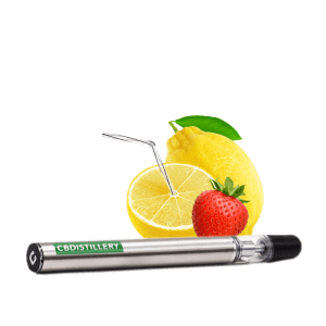 cdbdistillery vape pen strawberry lemonade