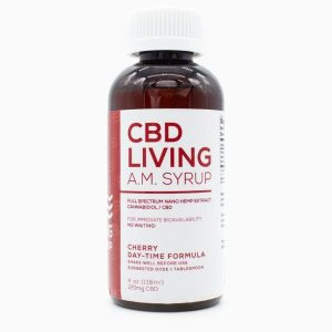 CBD Living AM Syrup Cherry