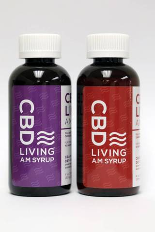 CBD Living AM Syrup
