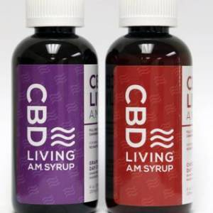 CBD Living AM Syrup