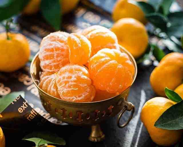 Calories in orange