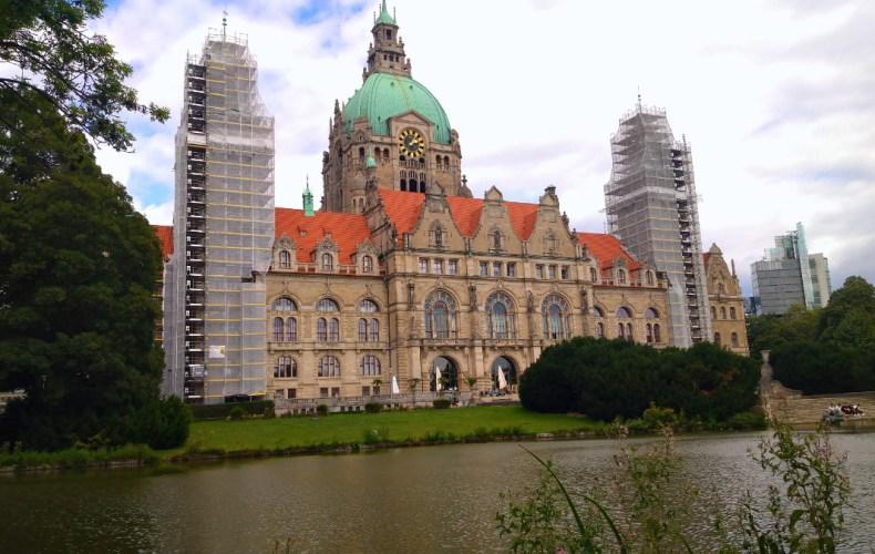 Standort Hannover Betreuung von Herbst-Zeitlos Bild Rathaus