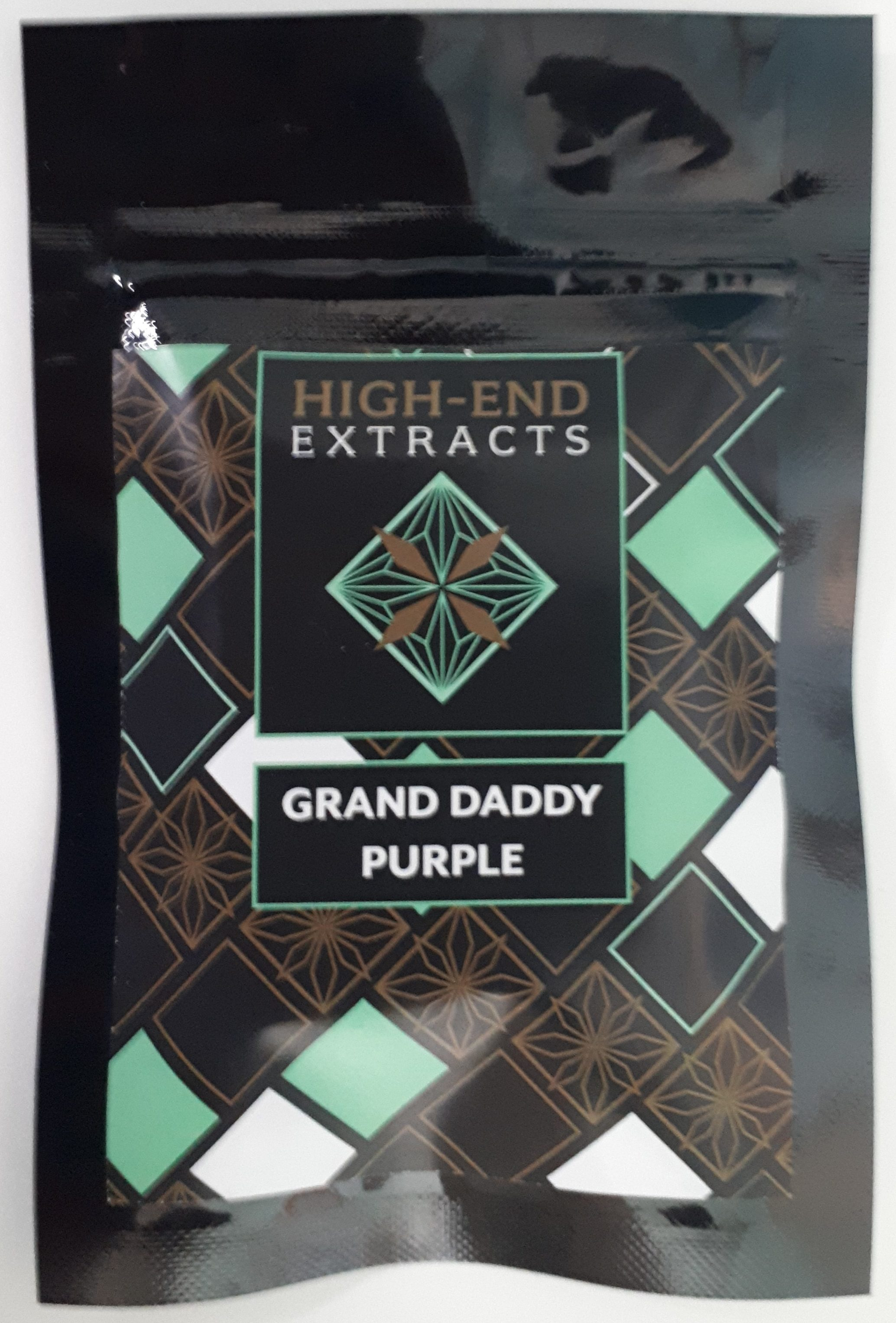 Grand Daddy Purple Shatter 1 Gram by High End Extracts