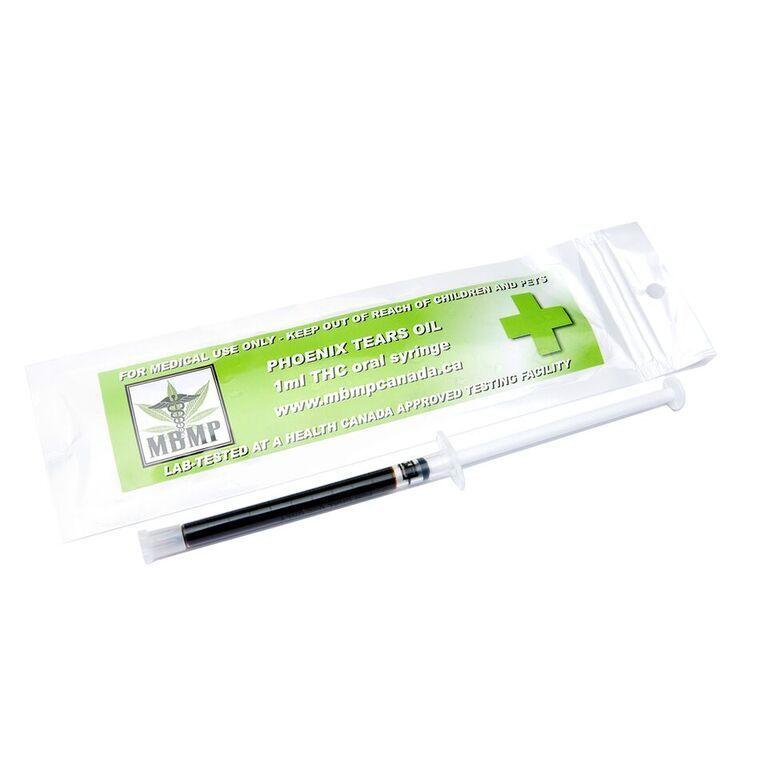RSO Phoenix Tears Oil (510mg) 1ml Oral Syringe