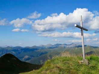 Breiteckkoppe, der letzte Berg. Von nun an gehts bergab