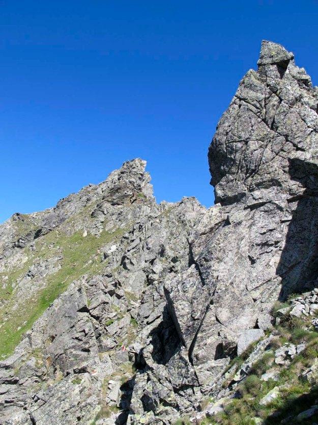Schöne Felsformationen vor dem Gr. Bösenstein