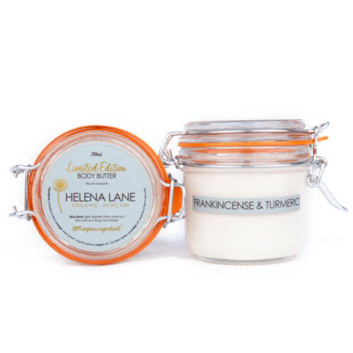 Helena Lane Limited Edition Body Butter Frankincense & Tumeric