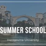 Ljetna škola na Sveučilištu Hercegovina!