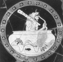 Héraclès dans la coupe d'or d'Hélios,