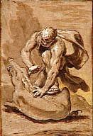 Hercule et la sanglier,