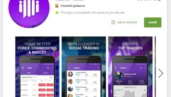 """Chat with other traders"""" on MetaTrader4 Android app"""