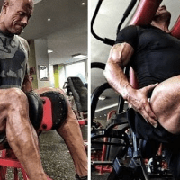 The Rock Leg Exercises