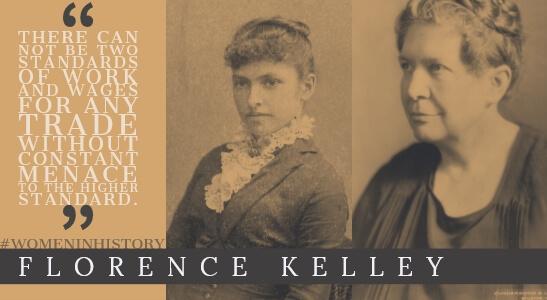 florence kelley, women in history at hercules slr