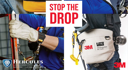 3m fall protection equipment from hercules slr