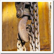 damaged hoisting equipment hercules slr