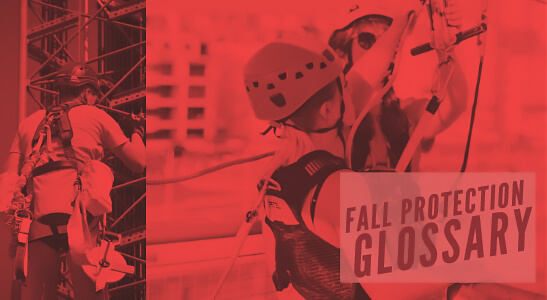 fall protection glossary