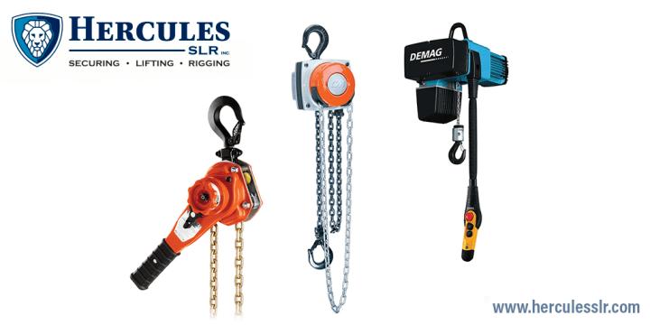 chain hoist, hercules slr, lfiting equipment