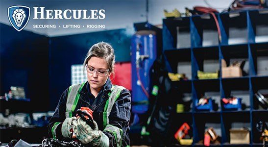 inspections, rigging services, hercules slr