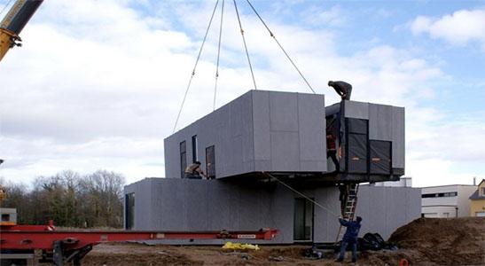 modular construction project hercules slr