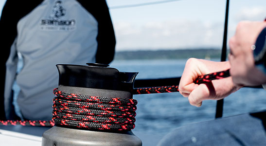 rigging lines, rigging services, samson rope, Samson Introduces: Innovative Running Rigging Lines