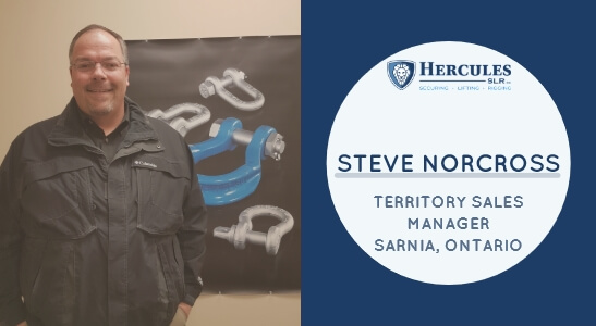 steve norcross territory sales manager, rigging industry