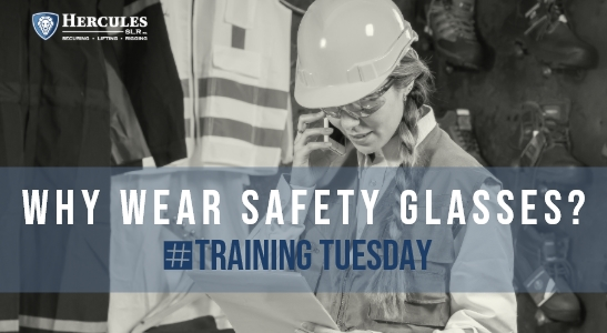 why wear safety glasses