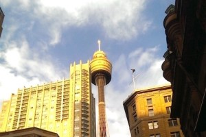 【雪梨遊記】雪梨塔 .::雪梨第一高塔不過如此而已::.