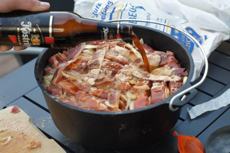 Schichtfleisch aus dem Dutch Oven 10