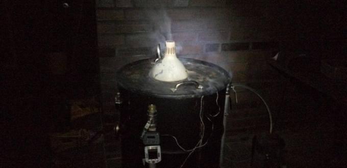 Projekt UDS (Ugly Drum Smoker – hässlicher Tonnen Räucherer)