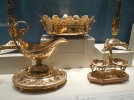 European Gold Tableware