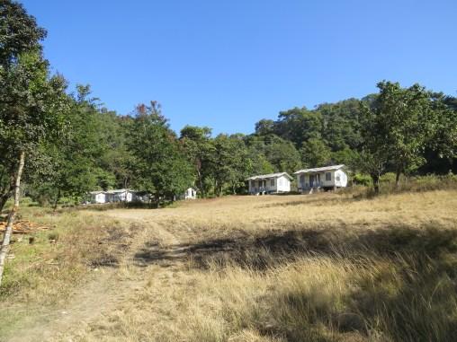 Myanmar houses.