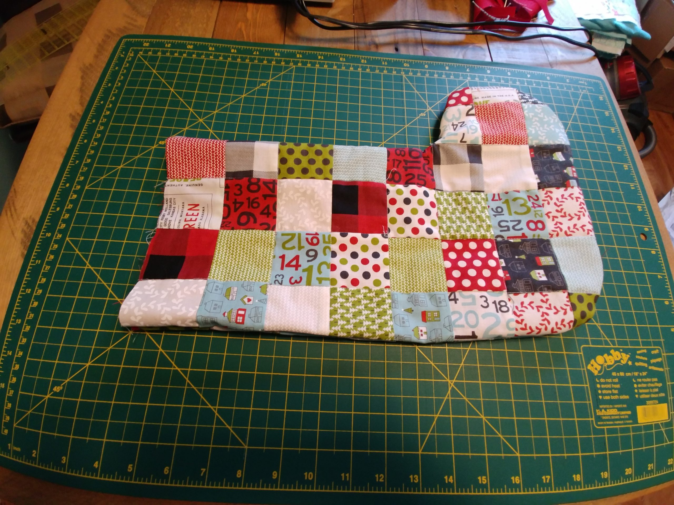 Patchwork Stocking 2