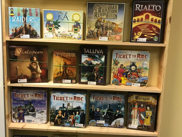 The Observatory's Game Library (Euro Strategy Games)