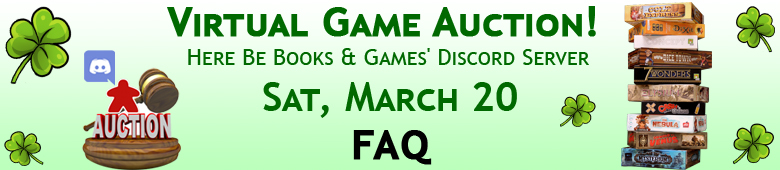 Virtual Game Auction March 2021 FAQ