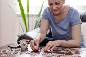 Just 20 minutes assembling a jigsaw puzzle can bring calm to your state of mind