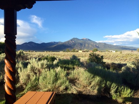 NM.view from rental house