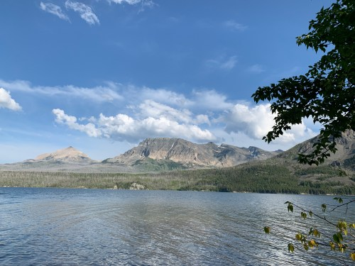lake in Glacier National Park