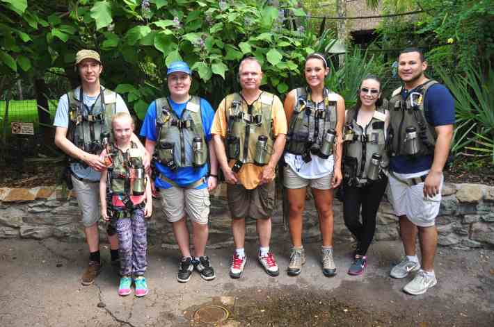 Disney's Animal Kingdom - Wild Africa Trek Group Shot