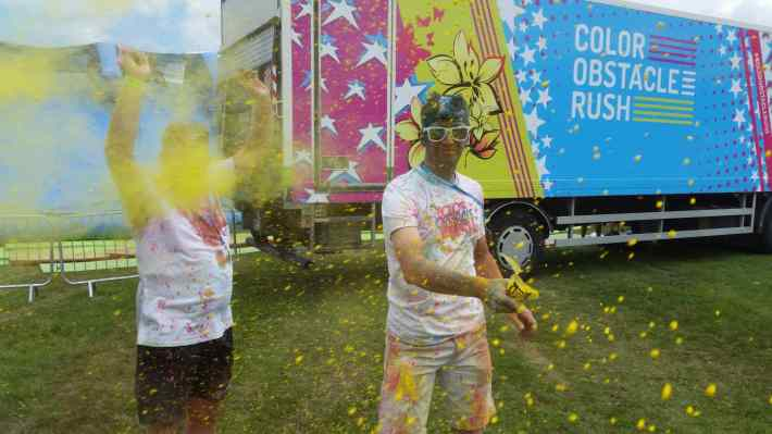 Colour Obstacle Run Newcastle