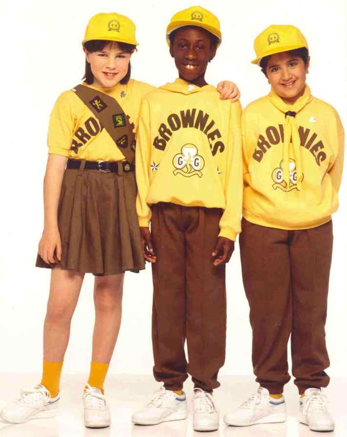 Jeff Banks Brownie Uniform