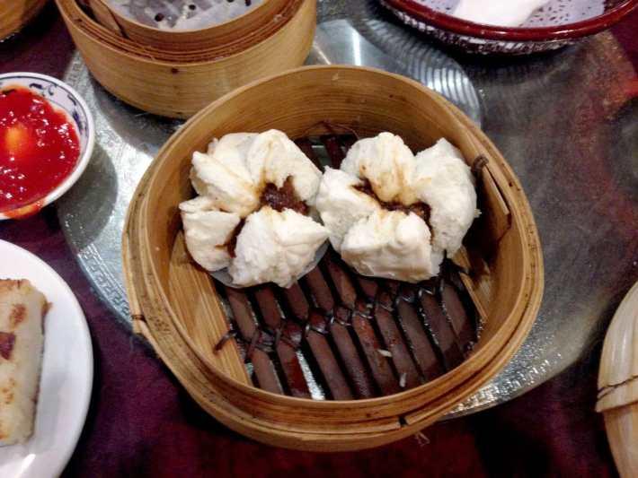 Steamed Pork Bun Chinese New Year
