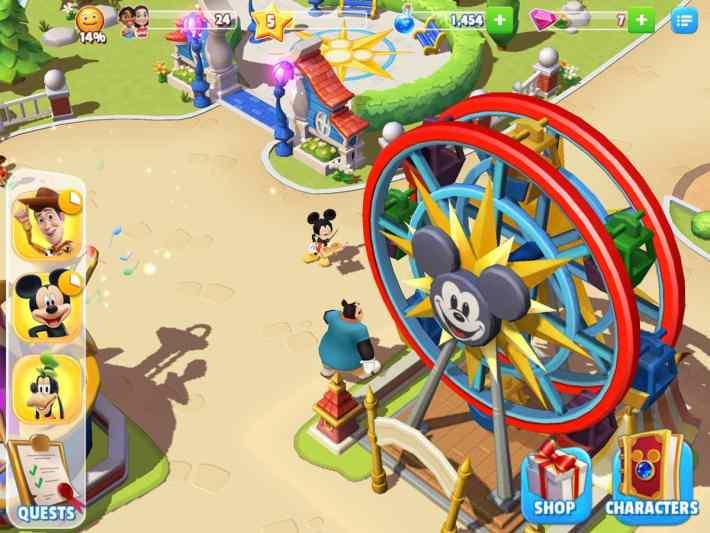 Disney Magic Kingdom App