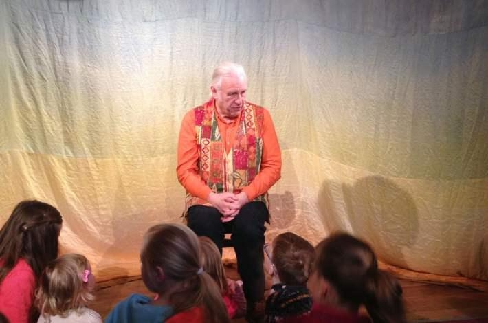 The Storyteller Chris Bostock