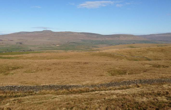 Yorkshire three peaks Whernside