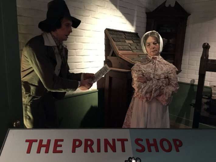 Discovery Museum Print Shop