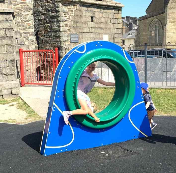 Aberystwyth Park at the Castle
