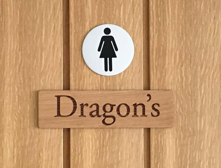 George and the Dragon Toilet