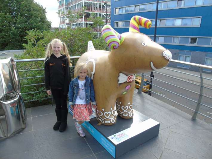 Great North Snowdogs - Gingerbread Dog